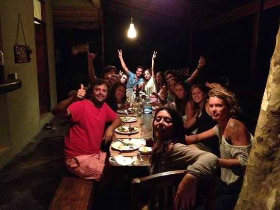 Gumbo Limbo Villas : Comida con los del hotel