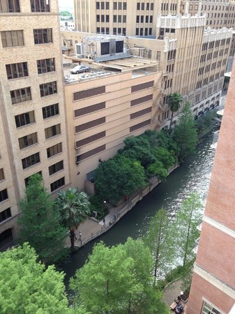 The Westin Riverwalk, San Antonio: View from the Balcony