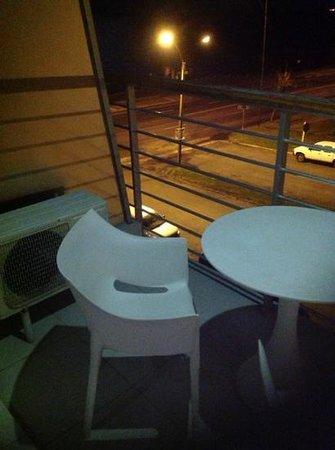 Real Colonia Hotel & Suites: balcon