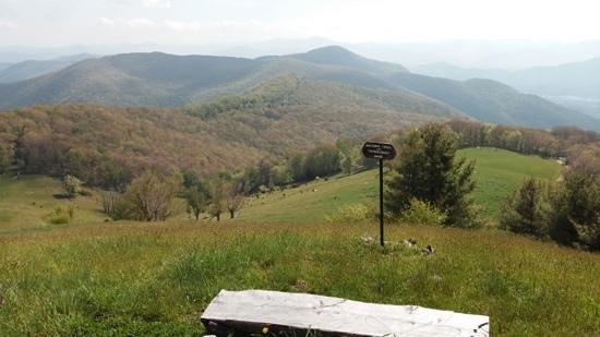The Cataloochee Ranch: one of many wonderful views