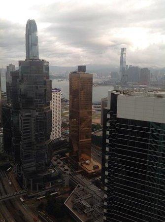 Conrad Hong Kong: A grey day