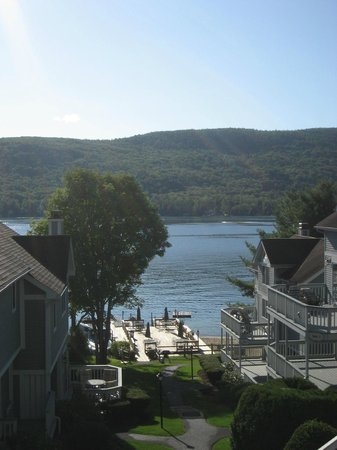 The Quarters at Lake George: View from suite