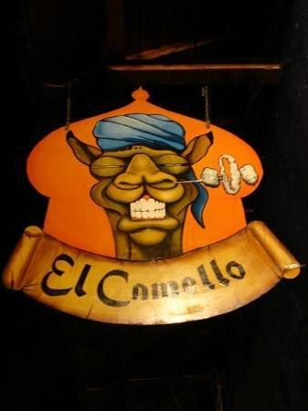 The El Camello Sign