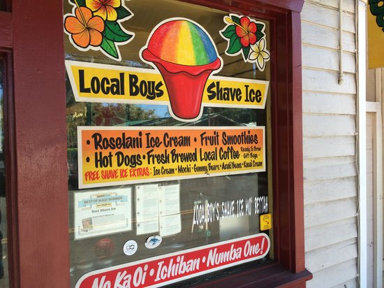Local Boys West : The Best Shaved Ice!!