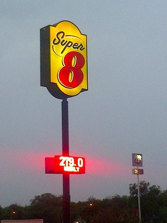 Super 8 Waco University Area: They probably wont give you that price unless you reserve online.