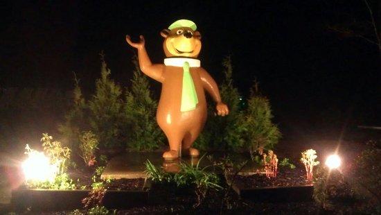 Yogi Bear's Jellystone Park Camp-Resort at Tall Pines : Happy Welcoming Yogi Bear