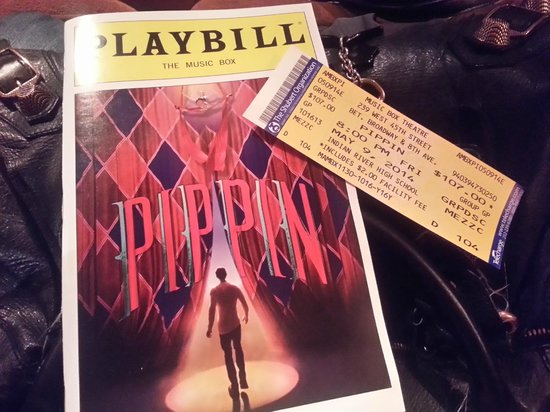 Pippin The Musical: playbill