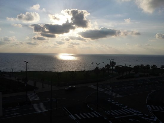 Ramada Netanya: From patio inside room