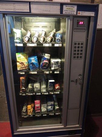 Globetrotter Hostel Odyssee: Vending machine