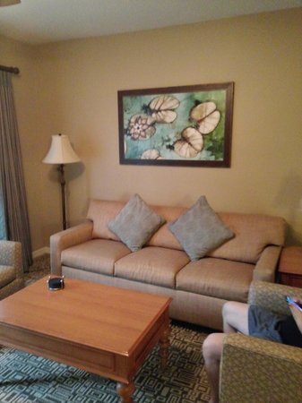 Wyndham Cypress Palms: Livingroom