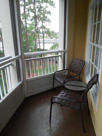 Wyndham Cypress Palms: Enclosed Balcony