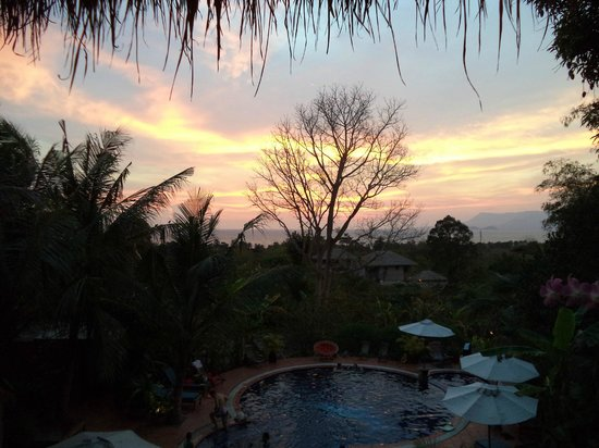 Just another stunning sunset at Kep Lodge