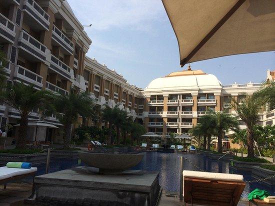 ITC Grand Chola, Chennai: The pool