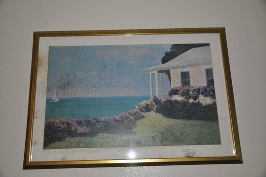 Red Roof Inns & Suites Savannah Airport Pooler : Picture on wall all moldy