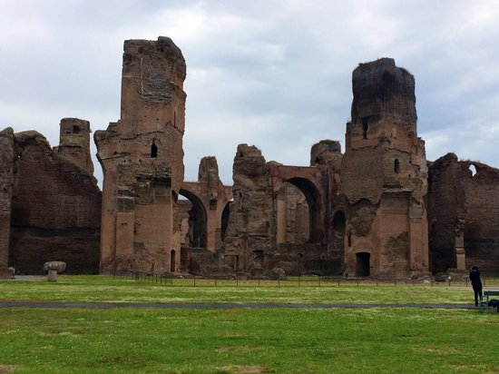 Thermes de Caracalla : Baths