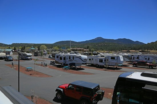 Grand Canyon Railway RV Park: Up on the roof 2