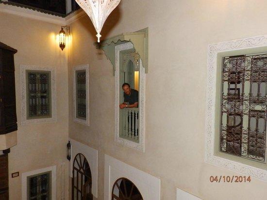 palacio de las especias: en el balcon de la habitacion