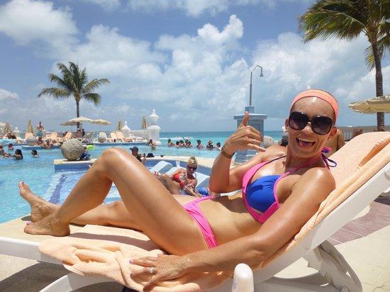 Hotel Riu Palace Las Americas : Main pool