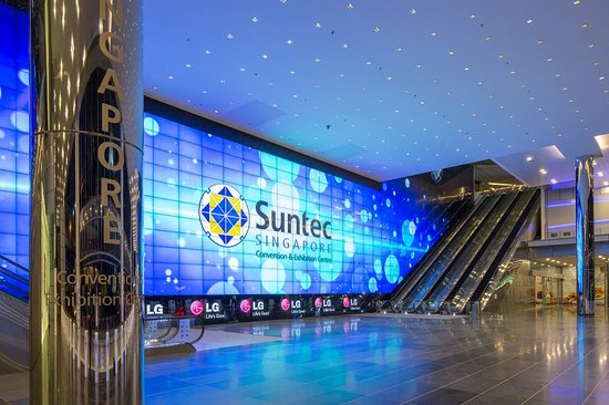 ‪Suntec Singapore Convention & Exhibition Centre‬