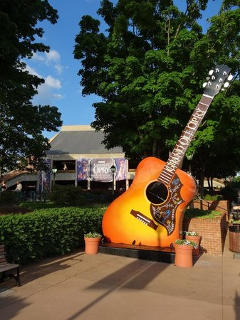 The Grand Ole Opry: entrance