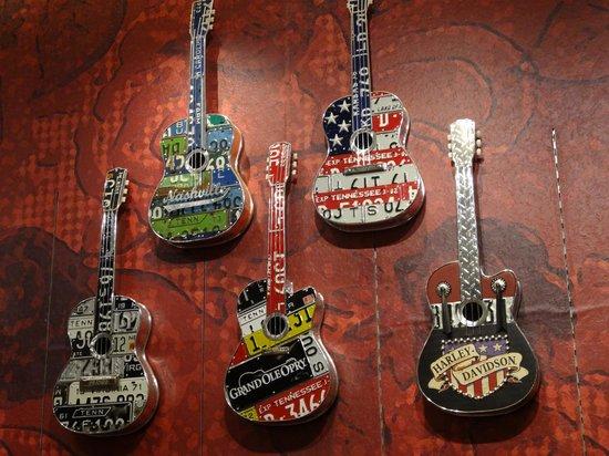 The Grand Ole Opry: guitar deco