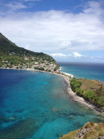Rosalie Bay Resort: @ Scott's Head, Champagne Reef, Scott's Head  and Soufriere Sulphur Springs Excursion Day