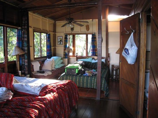 Pacific Edge: inside cabin