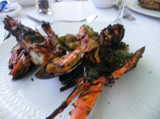 The Westin Langkawi Resort & Spa: Yummy, a selection of the private BBQ