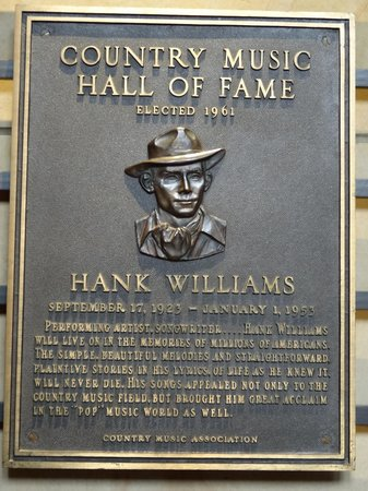 Country Music Hall of Fame and Museum: first man to be inducted