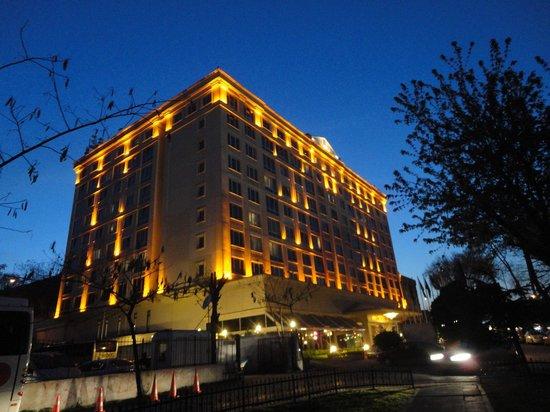 Akgun Istanbul Hotel: 夜