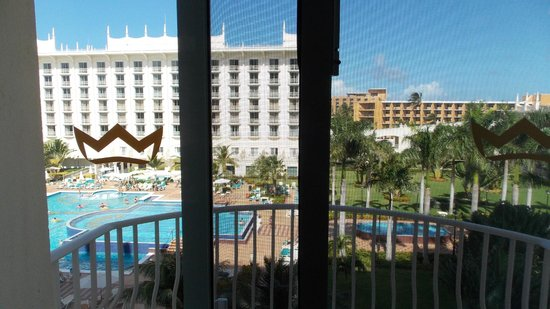 Hotel Riu Palace Aruba: Vista desde habitacion
