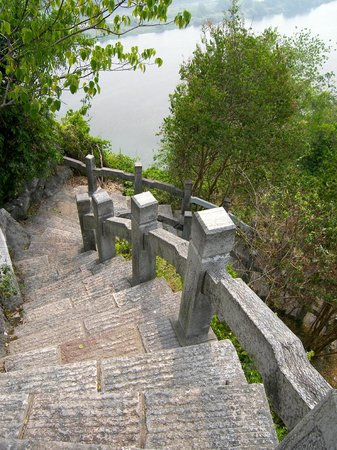 Climbing Fubo Hill