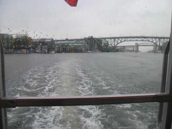The Aquabus: On way to David Lam Park and Yaletown