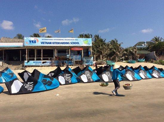 越南风筝冲浪学校