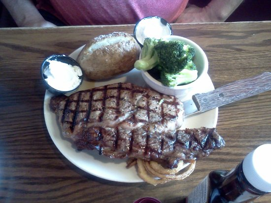 Millstone Restaurant Smoked BBQ: steak