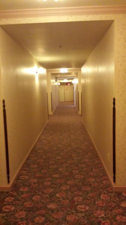 DeSoto House Hotel: hallway