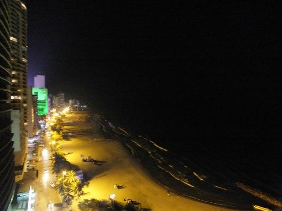 Hotel Capilla del Mar: Vista desde Balcon HAB 1609