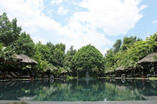 Pilgrimage Village: Pool Area