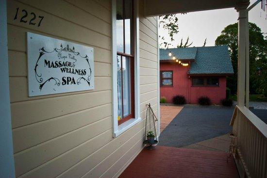 Entrance Picture Of Napa Valley Massage Wellness Spa Tripadvisor