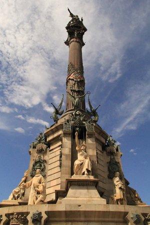 Las Ramblas: Christopher Columbus memorial