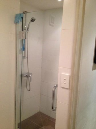 Novotel Suva Lami Bay : Shower in the better rooms