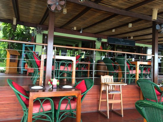 Dr. Frogs Bar & Grill: Terrace