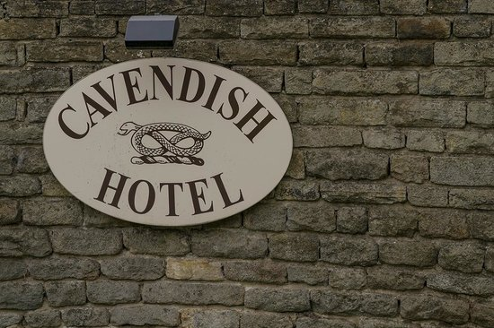 Cavendish Hotel: Hotel Sign