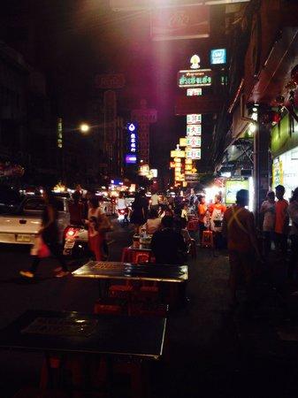 Shanghai Mansion Bangkok: China Town outside