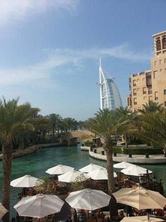 Souk Madinat Jumeirah: View from The Meat Co.