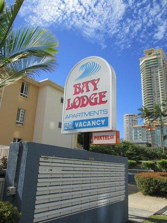 Bay Lodge Apartments: Entrance to Bay Lodge