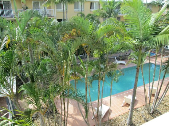 Bay Lodge Apartments: View from balcony
