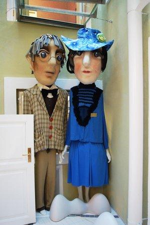 NUKU theatre & puppetry museum: огромные куклы