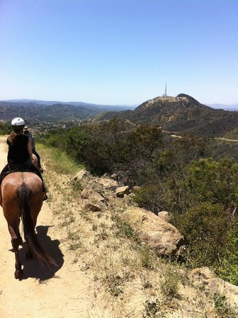Sunset Ranch Hollywood: Going back down
