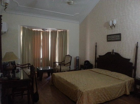 Hariana, India: hotel room